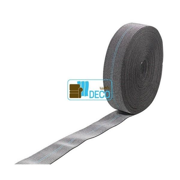 sangle elastique qualite siege largeur 60 mm prix par rouleau web deco. Black Bedroom Furniture Sets. Home Design Ideas