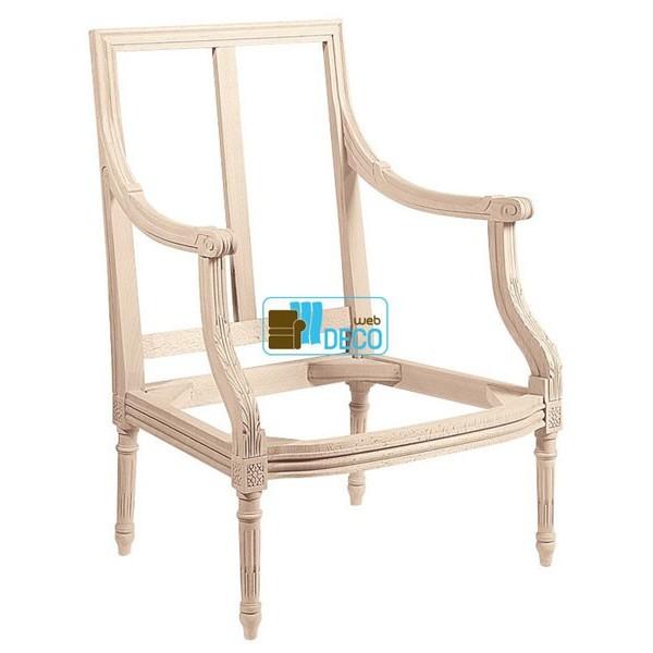 carcasse bergere jacob louis xvi web deco. Black Bedroom Furniture Sets. Home Design Ideas